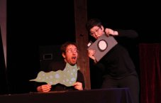The Final Countdown. Written, puppets by Jonathan Owicki. Performed by Jonathan Owicki, Gina Leigh.