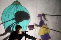 Lark and the River. Written, puppets, performed by Gina Leigh.