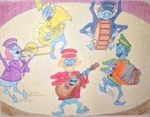 Flea Band color