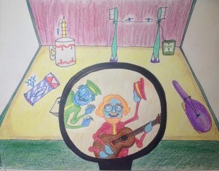 Flea band mag color