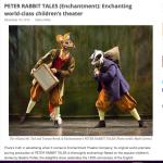 Enchanting world-class children's theatre